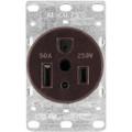 1254-BOX   Flush Mounted Power Receptacle