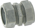 "1 1/4"" EMT Die Cast Compression Coupling"