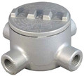 "GRX50 Explosion Proof Location Conduit Outlet Box (4) 1/2"" Hubs"