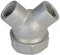 "PLBY-12 1-1/4"" 90º Explosion Proof Capped Elbow Fitting"
