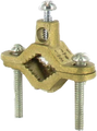 2 Screw Ground Clamp- Brass Plated