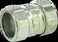 """3/4"""" EMT Steel Compression Coupling"""