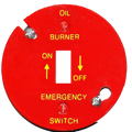 Oil Emergecy Burner Cover #41012