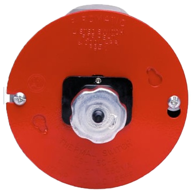 Fire O Matic Thermal Cut Off Switch Ts165 R Round B B Trading