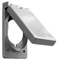 1-Gang Weatherproof Vertical Dryer/Range Receptacle Cover #82165C