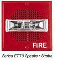 E70-24MCW-FW Wheelock Strobe Speaker