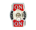 Heavy Duty 20A DPDT  On/Off/On Toggle Switch #66-1806