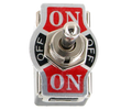 Heavy Duty 20A DPDT  On/Off/On Toggle Switch #66-1851