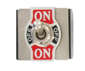 Heavy Duty 20A 4PDT  On/Off/On Toggle Switch #66-1815