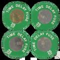 25A Leviton Time Delay Plug Fuses Box 4 #7942-25