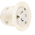 Cooper 20A Flanged Receptacle Outlet #CWL620FO