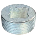 "1-1/4"" Explosion Proof Closure Plug with Threads - Malleable CPL114"