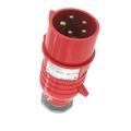 GE 20 Amp Pin & Sleeve Splash Proof Male Connector #GE520P7