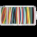 """4"""" Pcs. Heat Shrink Tubing Assorted Colors 160 Pcs. Kit"""
