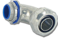 "3/8"" 90° Liquid Tight Die Cast Connector"