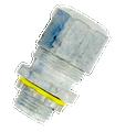 """1"""" Plastic Strain Relief Cord Connector"""