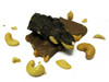 Cashew Bark: Roasted cashews and chocolate.  Available in milk or dark chocolate.
