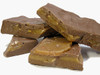 Toffee Bark: Large chunks of undipped butter crunch mixed in the chocolate.  Available in milk or dark chocolate.