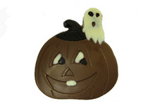 Hand-Painted Solid Pumpkin gift package
