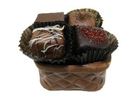 4 piece Chocolate Basket