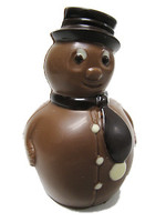 Frosty the Chocolate Snowman