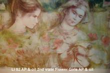 Flower Girls - Artist Proof and Oil