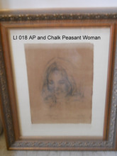 LI 018 AP and Chalk - Peasant Woman