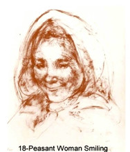 Peasant Woman Smiling