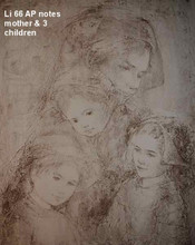 Mother and Three Children - Artist proof and notes