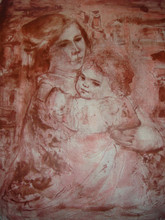 Ruth and Child - Artist Proof