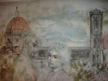 Lovers of Florence Artist Proof