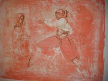 Greek Dancer - Artist Proof