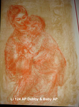 Debby and Baby - Artist Proof