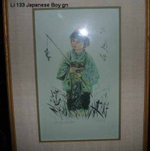 Japanese Boy - Green