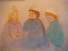 You Be the King - Artist Proof and Pastel
