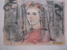 Kristina in Pigtails - Artist Proof