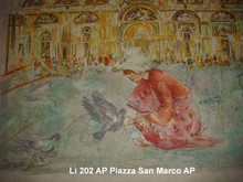 Piazza San Marco - Artist Proof with notes - just right
