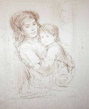 Mother and Child (Childrens Hospital) Artist Proof for J and D
