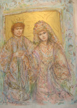Wedding of David and Bathsheba - Artist Proof