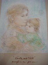 Krista and Child - bottom litho
