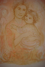 Dorene and Child - Artist Proof