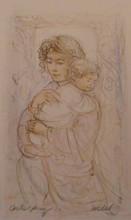 Shelia and Child - Artist Proof