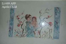April's Child - Artist Proof and Pastel