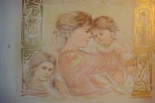 Severine and Children - Artist Proof