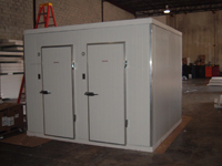 Ice Storage, walk-in Freezer