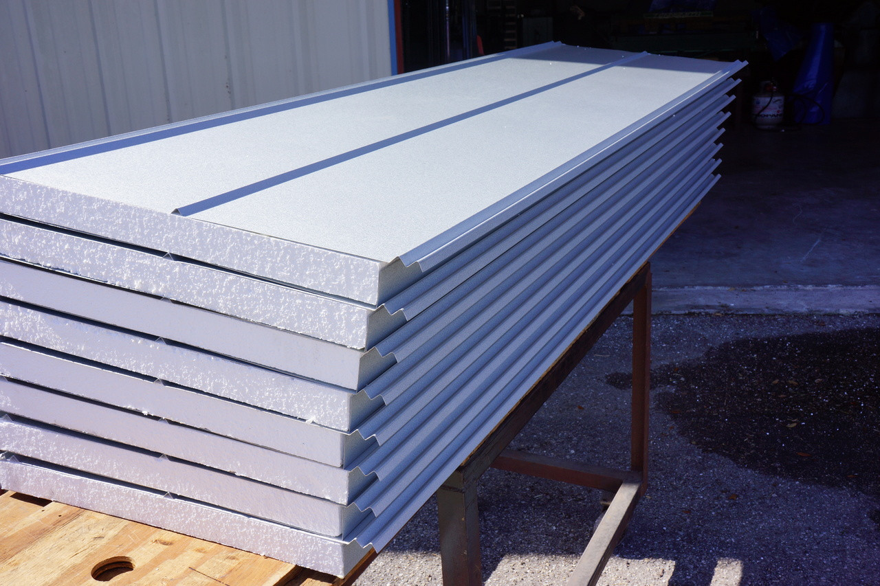 Walk In Cooler Panels >> Insulated Roofing Panels 5v