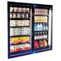 """Walk -in Freezer Glass Display Door 28 """" X 79"""""""