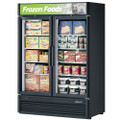 Turbo Air Reach-in Freezer  withTwo Swing Glass Display Door. Model: TGF-47SDB /By Turbo Air/