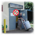 "Bug Control Units Save-T Bug Control Air Doors are specifically designed to stop the infiltration of flying insects. They are ideal in the food industry where USDA and NSF approval is a must! Doorway sizes: * Single piece units from 36"" to 120"" wide * Recommended doorway heights: o Interior doorways up to 8' o Exterior doorways up to 8' Applications: Interior or Exterior doorways up to 8' high* to control flying insects * Restaurants * Bakeries * Clean Rooms * Meat packing * Dairies"