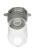 Economical Vapor- Proof Light Fixtures with Plastic Coated Glass Globe for Walk-in Coolers and Freezers